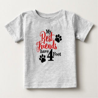 BFF With 4 Feet Baby T-Shirt