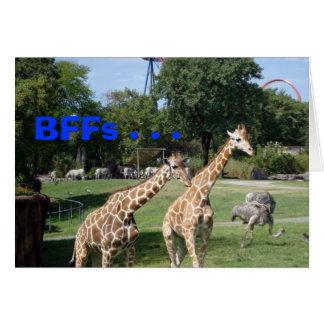 BFFs . . . Card