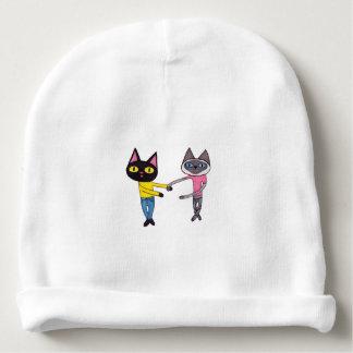 BFFs Cats (Pan & Chibi) Baby Beanie