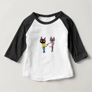 BFFs Cats (Pan & Chibi) Baby T-Shirt
