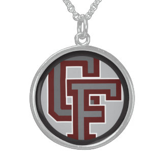 BFND 79-86 : Vintage CF Logo Round Pendant Necklace