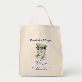 BG - Bag it... with The Ocean Rudee Autograph Grocery Tote Bag