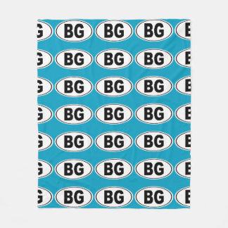 BG Bowling Green Kentucky Fleece Blanket