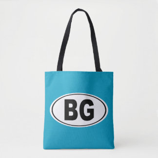 BG Bowling Green Kentucky Tote Bag