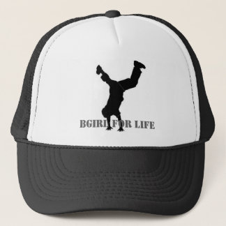BGIRL FOR LIFE TRUCKER HAT
