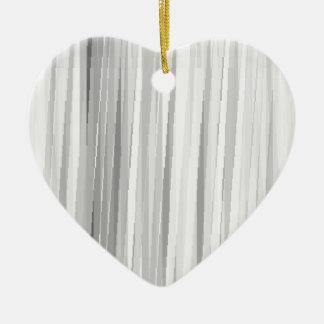 BGW Lines Ceramic Heart Decoration