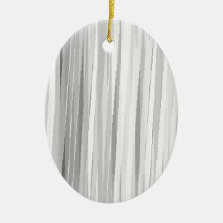 BGW Lines Ceramic Oval Decoration