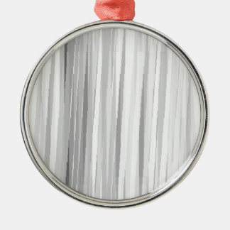 BGW Lines Silver-Colored Round Decoration
