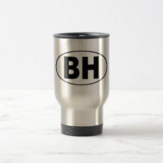 BH Beverly Hills California Travel Mug