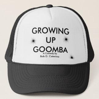 bh, bh, bh, GROWING UP GOOMBA, Bob D. Caterino,... Trucker Hat