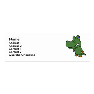 BH- Funny Alligator Business Cards