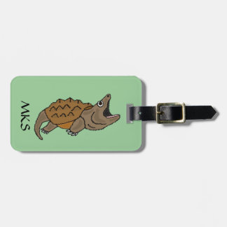 BH- Snapping Turtle Luggage Tag