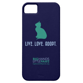 BHLP Live.Love.Adopt. Cat iPhone 5/5S Case