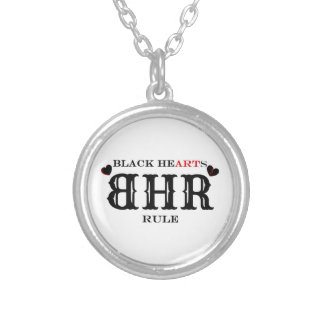 BHR/Black Hearts Rule Logo Necklace