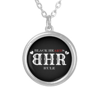 BHR Logo Necklace/Pendant Silver Plated Necklace