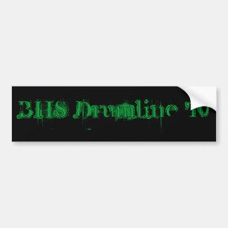 BHS Drumline '10 Bumper Sticker