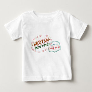 Bhutan Been There Done That Baby T-Shirt