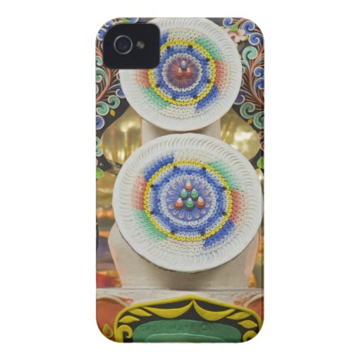 Bhutan. Ceremonial cakes made by monks adorn the Blackberry Bold Case