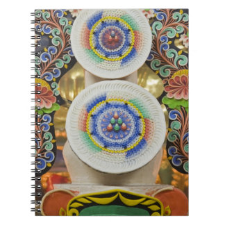 Bhutan. Ceremonial cakes made by monks adorn the Spiral Note Books