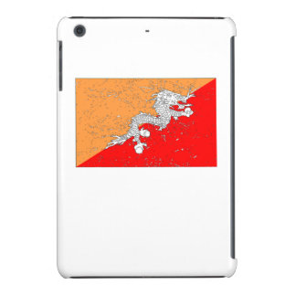 Bhutan Flag (Distressed) iPad Mini Retina Cover