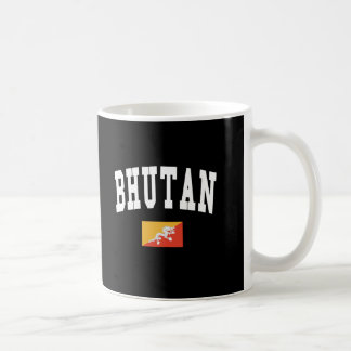 BHUTAN CLASSIC WHITE COFFEE MUG