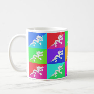 Bhutan Multihue Flags Mug
