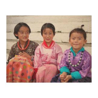 Bhutan Wood Print