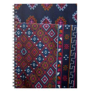 Bhutanese Rugs Spiral Notebook