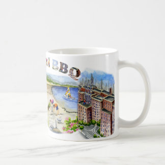 Bi Coastal BBQ Coffee Mug
