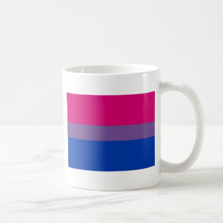 Bi Flag Flies For Bisexual Pride Coffee Mug