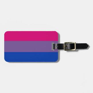 Bi Flag Flies For Bisexual Pride Luggage Tag