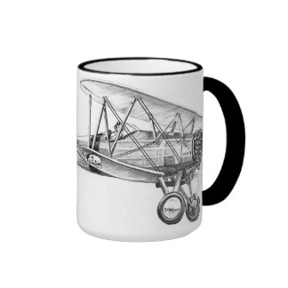 Bi-Plane Ringer Coffee Mug