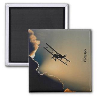 Bi Plane Sky Magnet