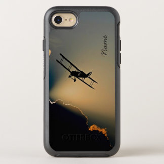 Bi Plane Sky OtterBox Symmetry iPhone 8/7 Case