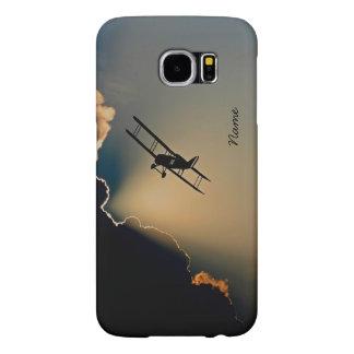 Bi Plane Sky Samsung Galaxy S6 Cases