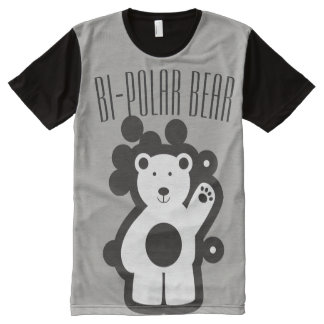 Bi-Polar Bear 101 All-Over Print T-Shirt