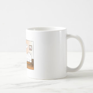 Bi-Polar Cartoon Coffe eMug Coffee Mug