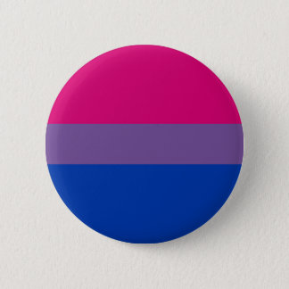 Bi-Sexual Pride Flag 6 Cm Round Badge