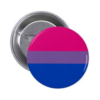 Bi-Sexual Pride Flag 6 Cm Round Badge