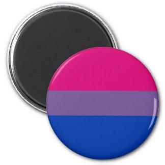 Bi-Sexual Pride Flag 6 Cm Round Magnet