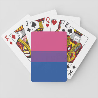 bi themed playing cards