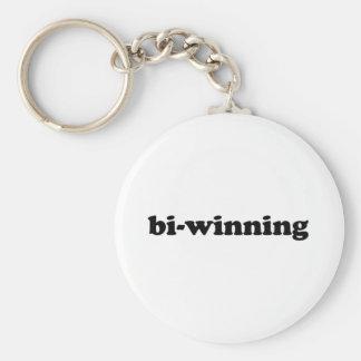 Bi-Winning Basic Round Button Key Ring