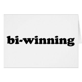 Bi-Winning Greeting Card