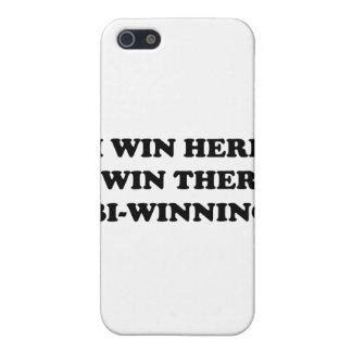 BI-WINNING! I Win Here, I Win There! iPhone 5 Cover