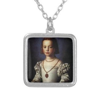 Bia de' Medici Square Pendant Necklace