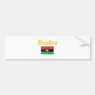 Biafra Flag Bumper Sticker