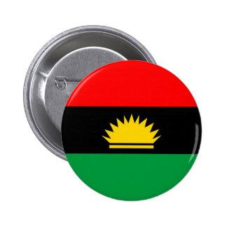 Biafra republic minority people ethnic flag 6 cm round badge