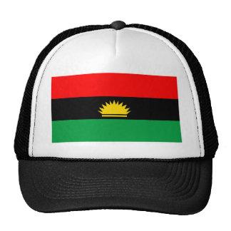 Biafra republic minority people ethnic flag cap
