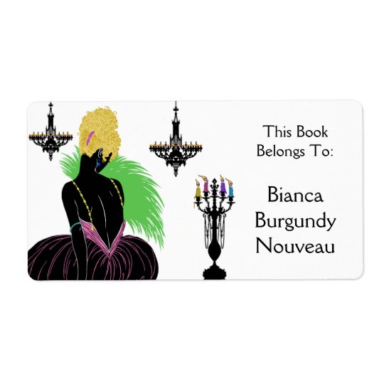 Bianca in Black and White - Bookplate