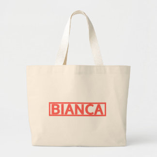 Bianca Stamp Jumbo Tote Bag